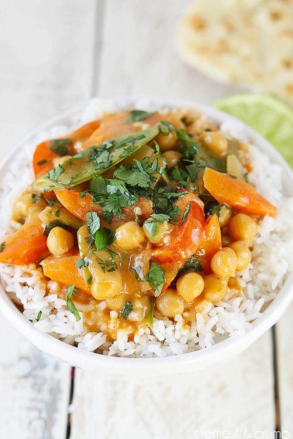 curry z cieciorki