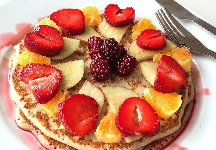 Amerykańskie pancakes na królewskie śniadanie 32