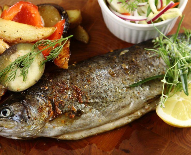 Łosoś, pstrąg i dorada, czyli ryby prosto z grilla 22