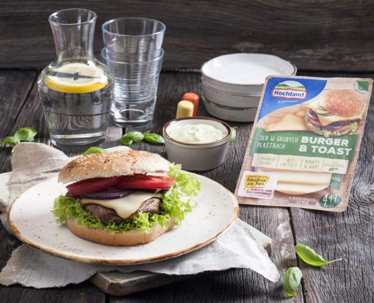 Przyjemność bez końca! Wegetariańskie burgery z ciągnącym się serem żółtym 30