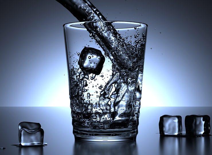 woda z lodowca