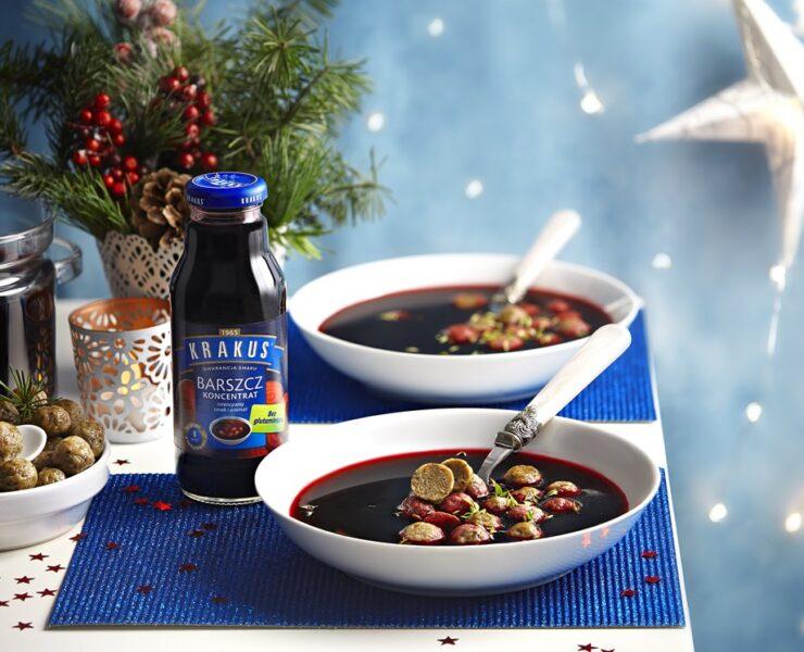 Klasyczne zupy świąteczne z nietypowymi dodatkami 25